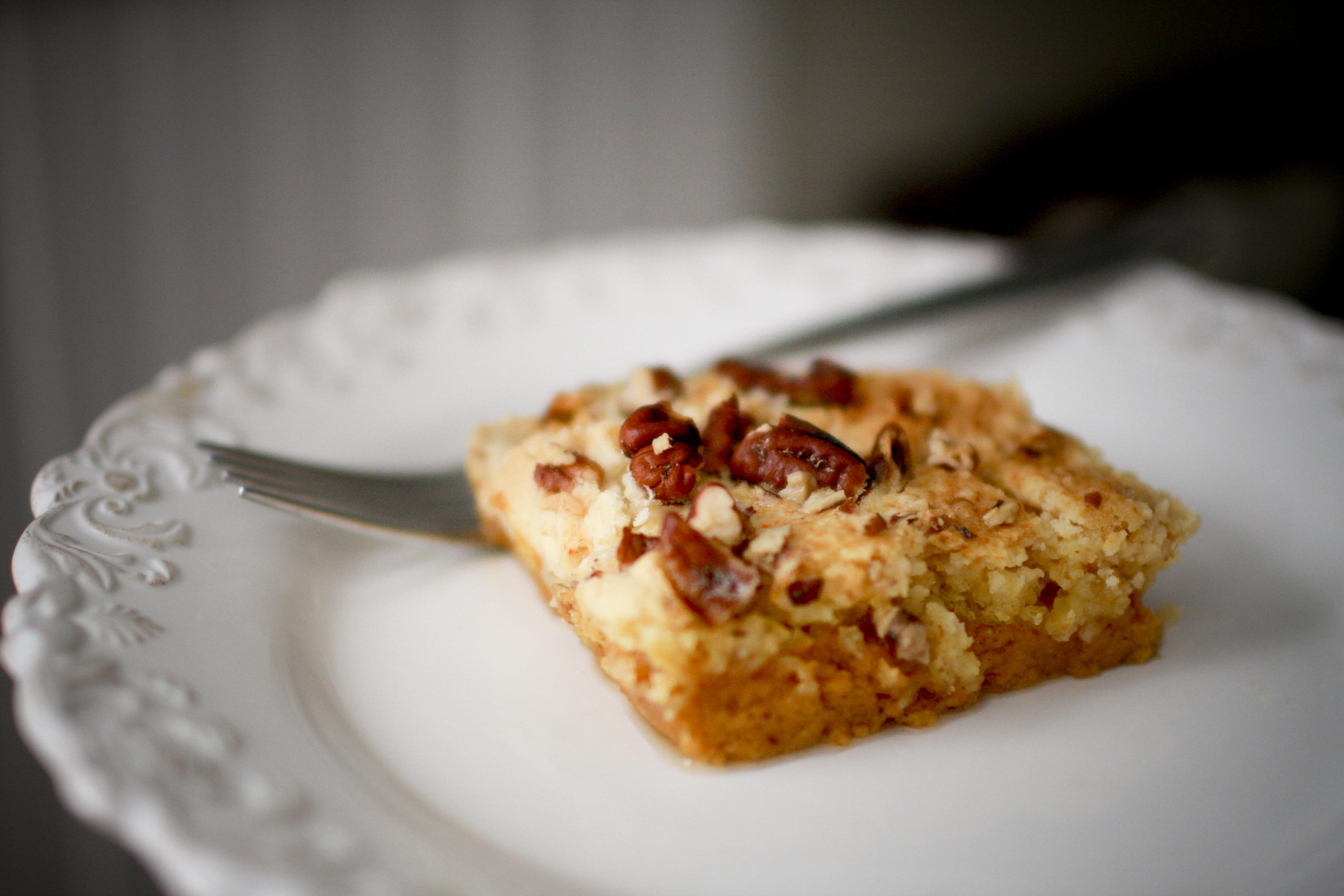 pumpkin crunch cake | the rigneys