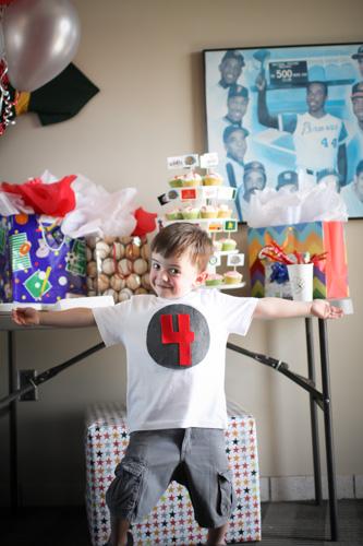 Sam's 4th Birthday Party-20